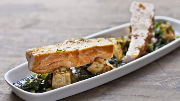 Celeriac, black cabbage and smoked chicken won't leave you sleepy.