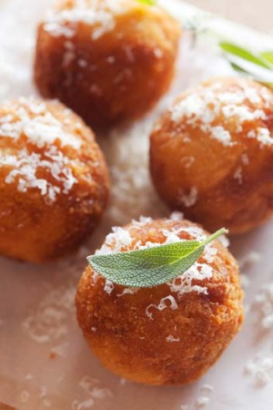 Loved by young and old: Arancini.