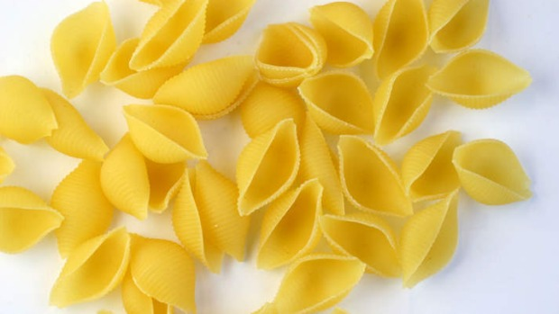 Some pasta are made to catch sauce, like conchiglie or pasta shells.