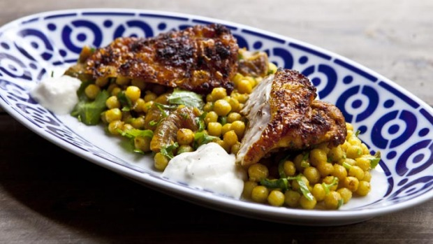 Spiced chicken with a versatile marinade.