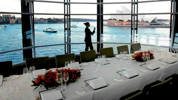 Quay restaurant is booked out three to six months in advance.