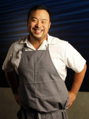 Portion control: David Chang of Momofuku Seiobo.