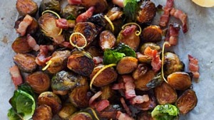 Good Food - Jill Dupleix - Hot Food. Brussel Sprouts. Teusday 14th May 2013. Photograph by James Brickwood. SMH GOOD ...