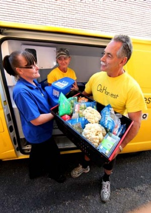 Food rescue: OzHarvest donations fluctuate from store to store.