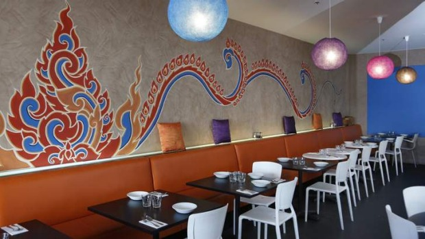 Vibrant and fun ... Thirst Wine Bar and Eatery in the Melbourne Building.