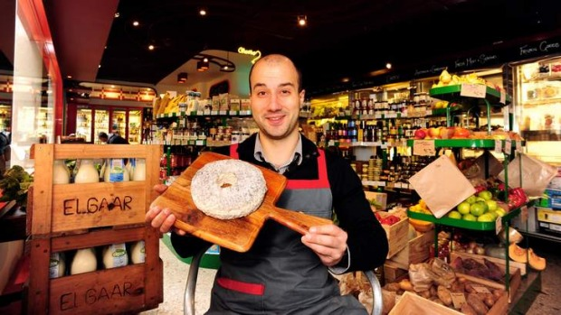 The wheel deal: Anthony Femia of Spring Street Grocery will compete in the Loire Valley.