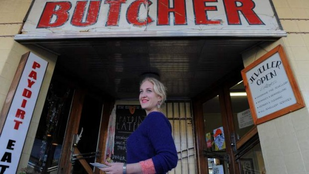 Rose Ricketson ... Co-owner of The Paydirt Eatery in Braidwood.