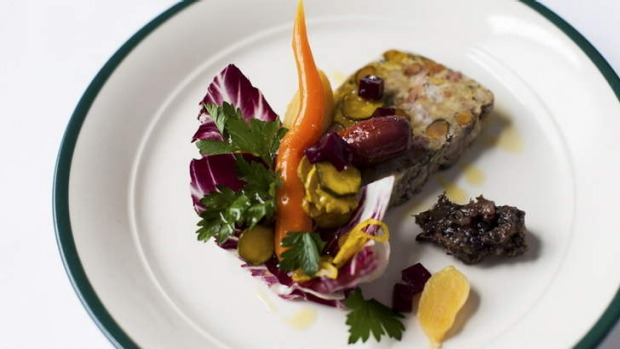 Union Dining in Richmond holds a monthly lunch with ingredients sourced from local producers.