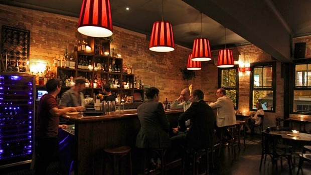 A touch of class: The Wild Rover isn't your average Irish watering hole.