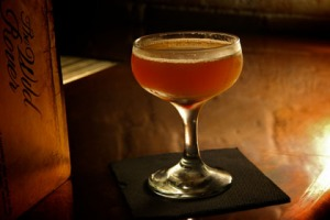 The Wild Rover, 75 Campbell St, Surry Hills. Hells Kitchen Martini. Bar review. Good Food. photo: Marco Del Grande on ...