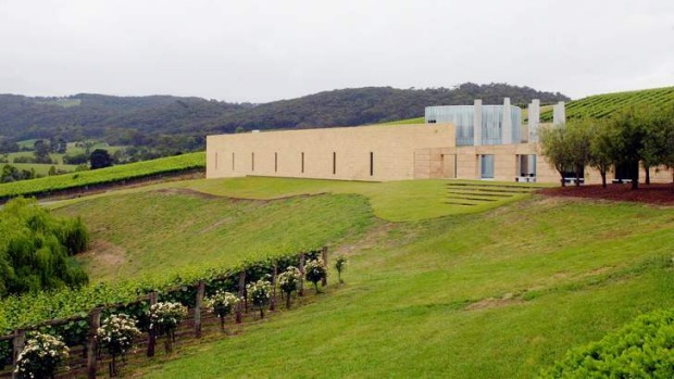 TarraWarra Estate's winery and art museum.