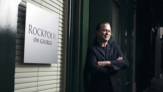 Ready to move on: Neil Perry at Rockpool's premises in The Rocks, where it has been a fine dining institution since it ...
