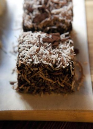 Fresh ideas: LusciousKiki's lamingtons.