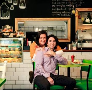 Owners Damien and Seona Breen at their Burwood cafe Foodrinkery.