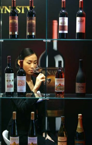 Rising tide: China's growing domestic wine production has enabled it to steadily climb the ranks of wine producing countries.