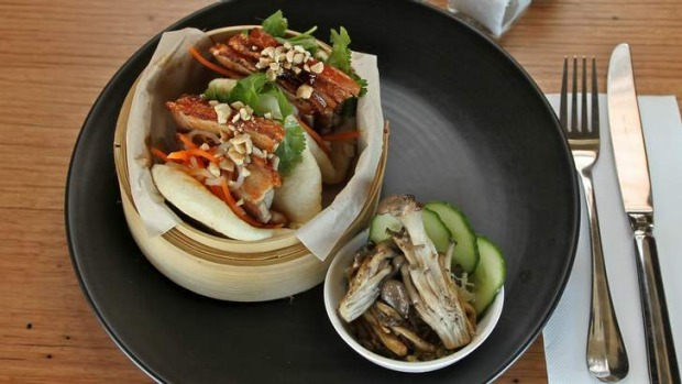 Go-to dish: Pork belly in home-made steamed buns.