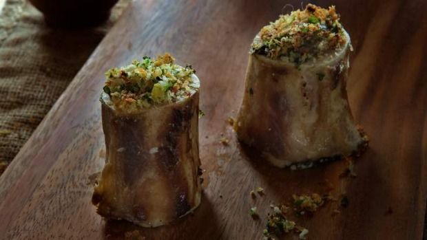 Wobbly, melting and unctuous: Bone marrow.