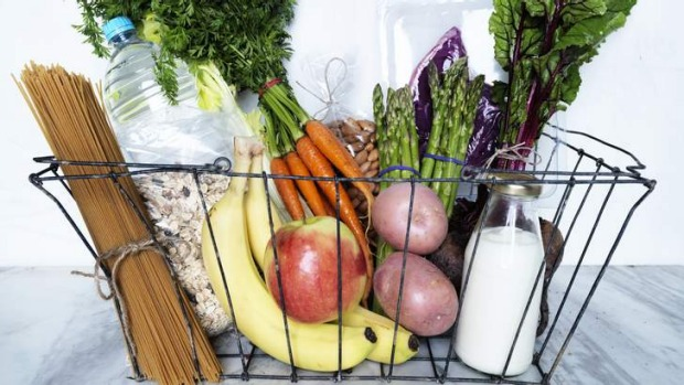 Natural selection: Fresh, unsweetened foods and liquids should dominate your shopping list.