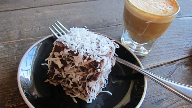 Word is well and truly out: Lamingtons can be found at America's inaugural Toby's Estate cafe in Brooklyn, New York.