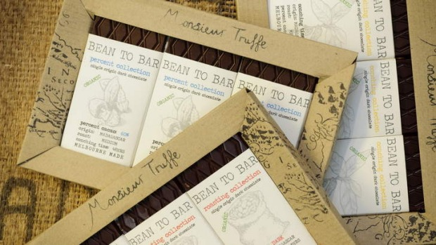 "Monsieur Truffe's ""simple"" bean-to-bar chocolate comes in three varieties."