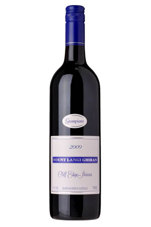 Chris Shanahan wine reviews july 10 2013   Mt Langi Cliff Edge Shiraz 2009.png