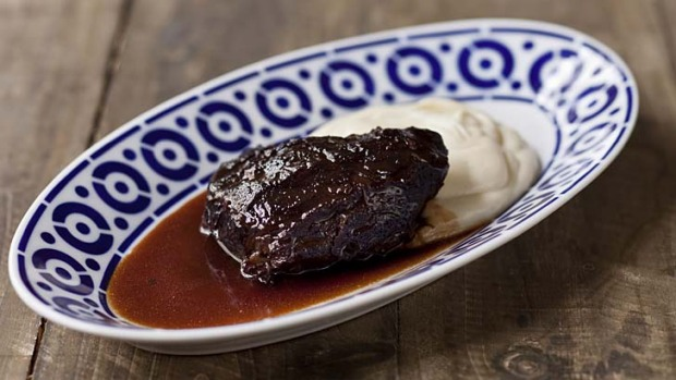 Pedro Ximenez beef cheek.