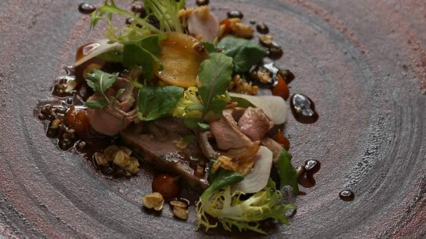 Saint Crispin delivers such delights as the 'sublimely balanced' duck entree.