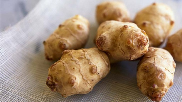 Gas attack: Jerusalem artichokes can be hard to digest.