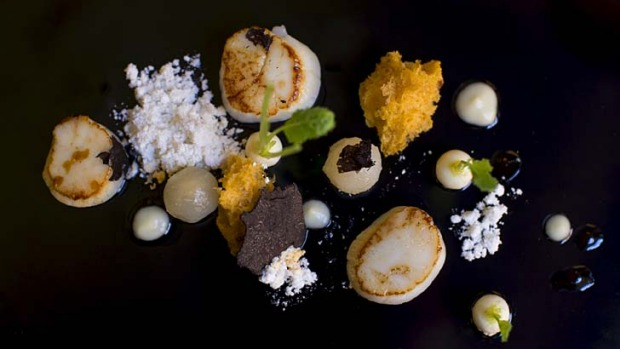 Delicacy: An assortment of truffle delights awaits with the Cafe Opera's A Taste of Truffle special.