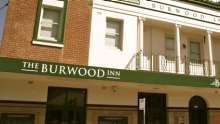 The Burwood Inn Exterior