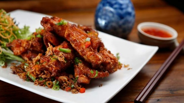 As well as dumplings, try dishes such as the chicken ribs.