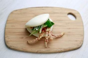 Orient East's soft shell crab bun.