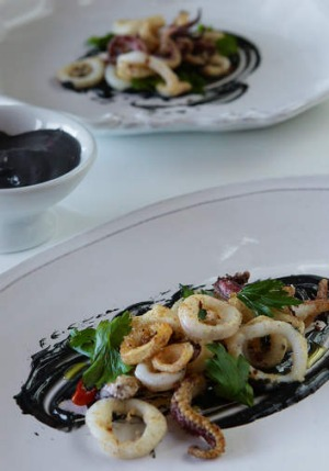 Black gold ... Squid Ink.