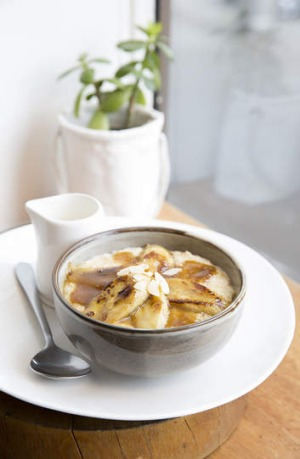 Goldilocks-approved: Banana is one of many ingredients that can be used to jazz up a bowl of porridge.