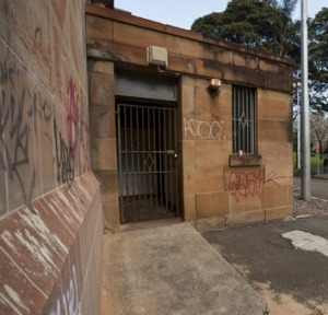 Forget the past: A historical toilet block located in Belmore Park may soon be your local coffee stop.