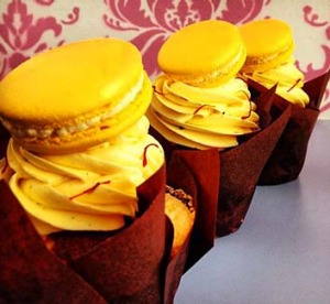 Indulgence ... The 'golden cupcake'.