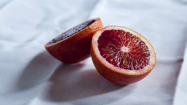 Smooth and fresh: Blood oranges work well in both sweet and savoury dishes.