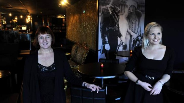 Sister act ... Polit Bar owner Mary-Jane Liddicoat and food and beverage manager Emily Liddicoat.