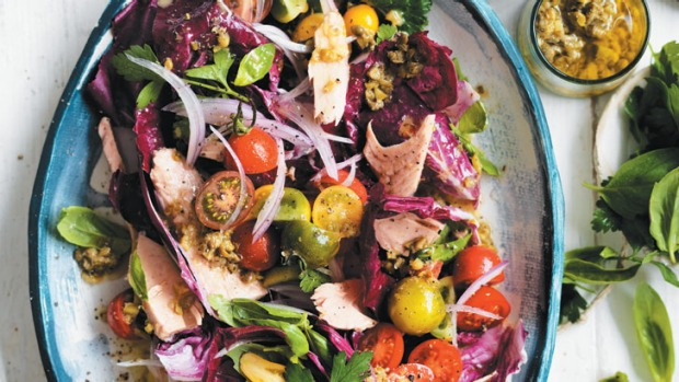 Zest, fresh and colourful, this salad is a great way to inject some vitality into your day.