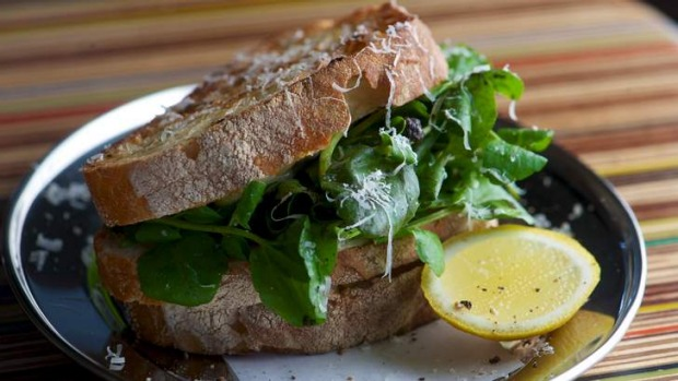 Get it while you can ... the truffle toastie at Guerilla Espresso in Footscray.