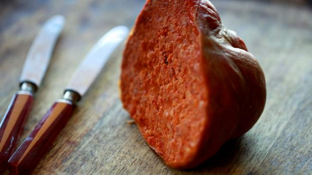 Hot to trot: Nduja salami.
