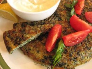 Turkish spinach omelette is a typical breakfast.