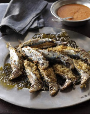 It's a no brainer. Vermentino is simply the right match for sardines.