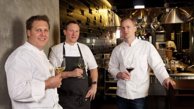 Inspired by Asia: (Left to right) Ross Lusted, Phil Wood and Ben Greeno have all been nominated for Chef of the Year at ...