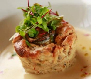 Ilona Staller's prawn and anchovy souffle.