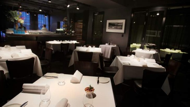 Fun with intent: the dining room at Attica.
