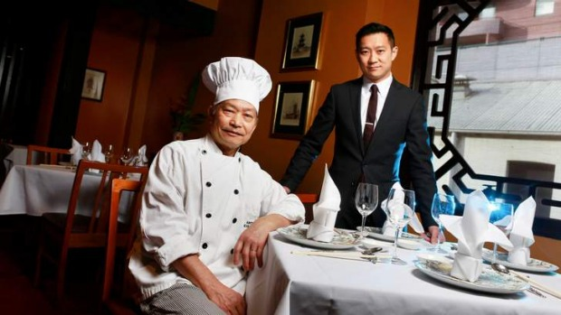Step up: Flower Drum restaurant's Jason and Anthony Lui received three hats.