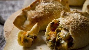 Karen Martini recipes - i know what you like  LAMB AND VEGETABLE AND GRUYERE PASTIE WITH OLIVE OIL PASTRY  Photography ...