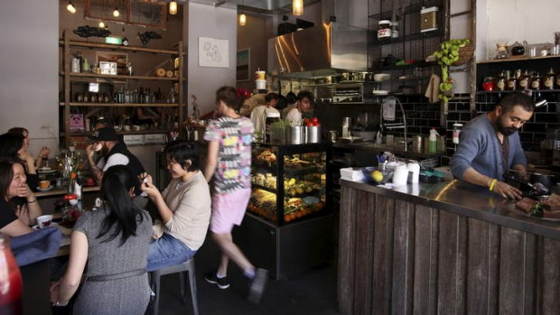 Go for the coffee, stay for the food. This bustling cafe has all tastes catered for.