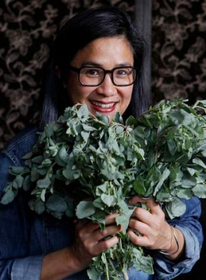Bush tucker woman: Kwong offers native ingredients with a twist.